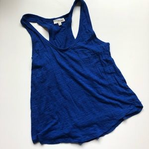 WILFRED FREE | Royal Blue Racer Back Tank Top XS